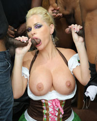 Alena Croft Black Dick Fucks
