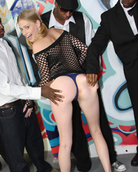 Allie James Free Interracial Gangbang Pictures
