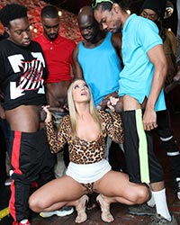 Candice Dare Ride Black Cock