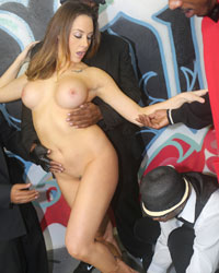 Chanel Preston Interracial Pron