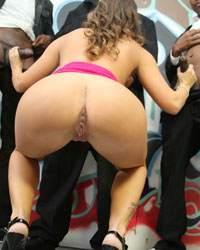 Jamie Jackson Blacks On Blondes Balls In Ass