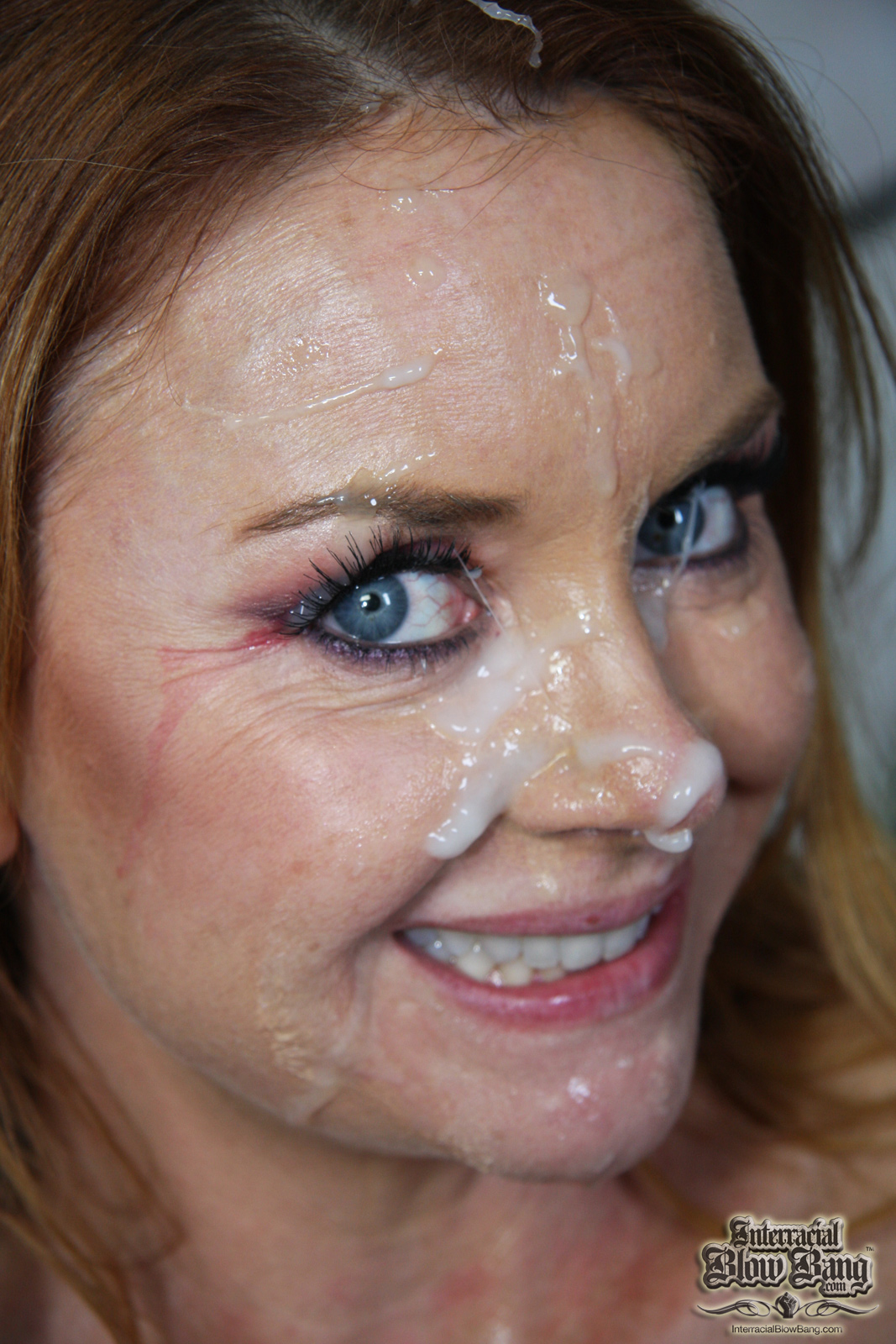 Yeah Janet Mason facial that cum