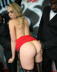 Kagney Linn Karter Deep Throat Black Cock