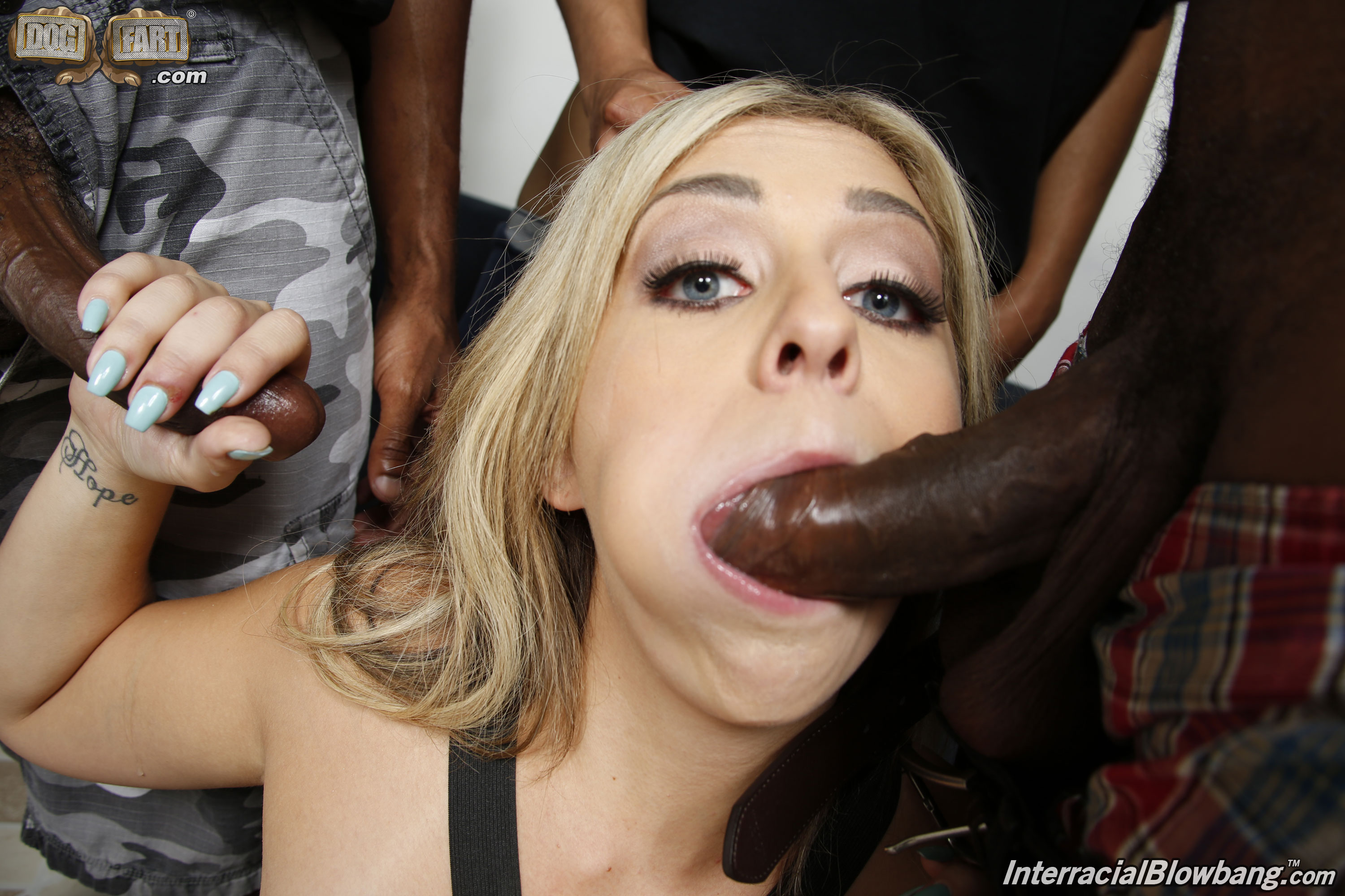 Amateur fffm blowjob madelyn gets her 10