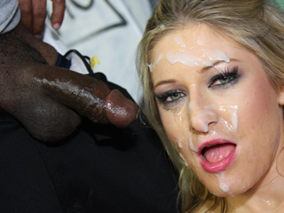... Paris Gables Interracial Creampie Pregnant
