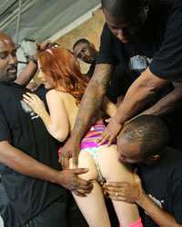 Black Cock Party Penny Pax