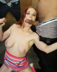 Penny Pax Interracial Gang Bang