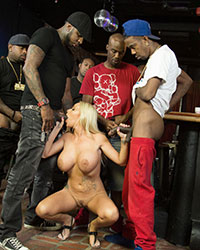 Rachele Richey Interracial Gangbang Pictures