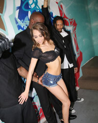 Jordan Blue Blacks On Blondes Riley Reid