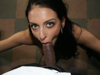 Stephanie Cane - Interracial BlowBang