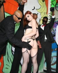 Violet Monroe Blacks On Blondes Belladonna